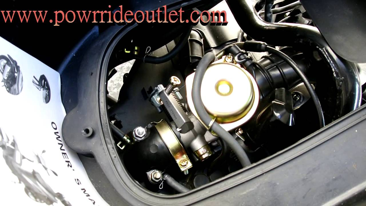 How To Replace Carburetor On 50cc 150cc Scooter Youtube Motofino Wire Diagram 2010