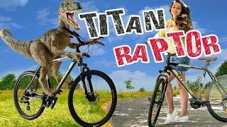 Велосипед динозавр! Видео-обзор велосипеда Titan Raptor