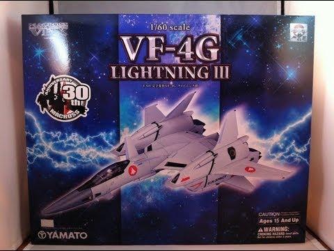 Yamato 1/60 VF-4G Lightning-III Review