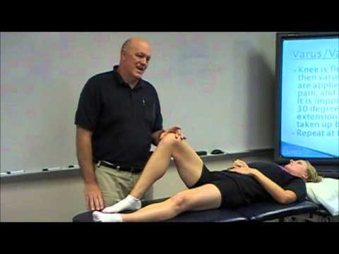 Knee Examination - Anterior Cruciate Ligament Tests