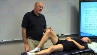 Knee Examination - Anterior Cruciate Ligament Tests