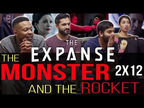 The Expanse - 2x12 The Monster and The Rocket - Group Reaction + Skit