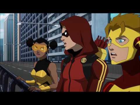 Original Teen Titans Team | Robin meets Starfire - Teen Titans: The Judas Contract