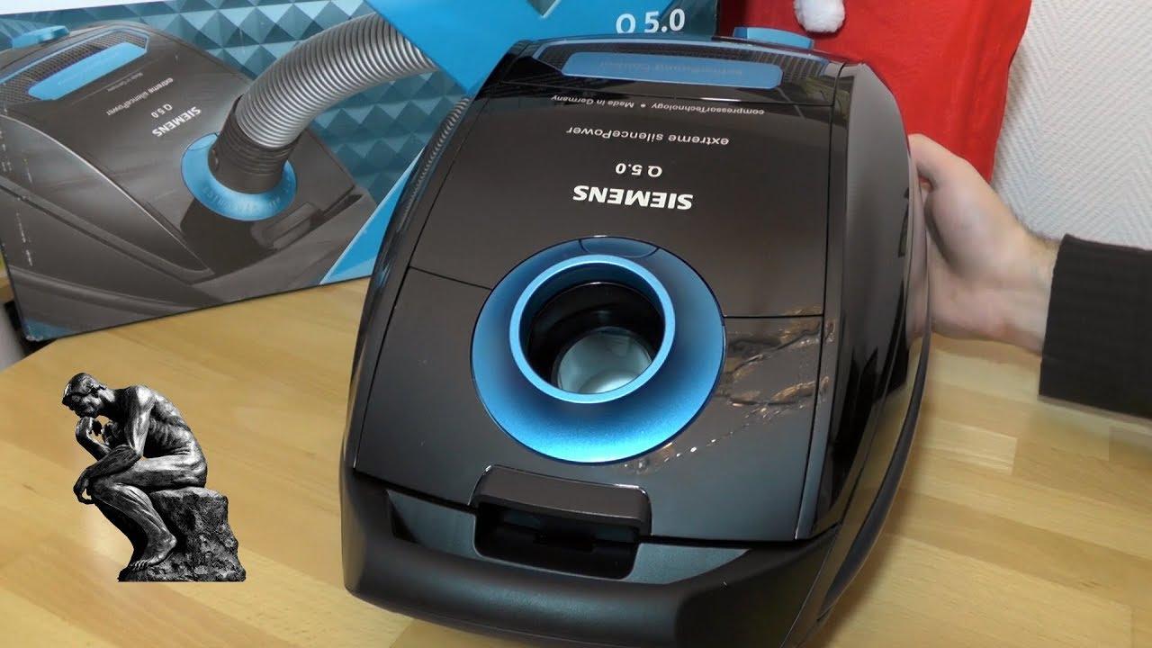 Siemens VSQ5X1230 Q5.0 extreme SilencePower 40 Mr.Clean Staubsaugerbeutel geeig