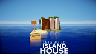 ✔ Minecraft: Small Island House
