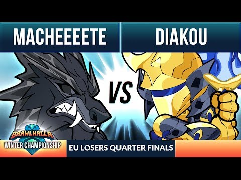 Macheeeete vs Diakou- L Quarter Final - Winter Championship EU 1v1 Top 8