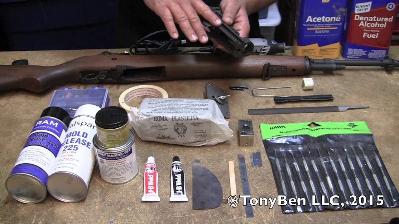 Glass Bedding the M14/M1A, Part 1