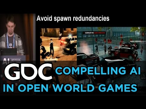 Free Range AI: Creating Compelling Characters for Open World Games