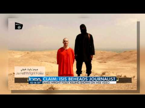 American journalist beheaded, ISIS video claims