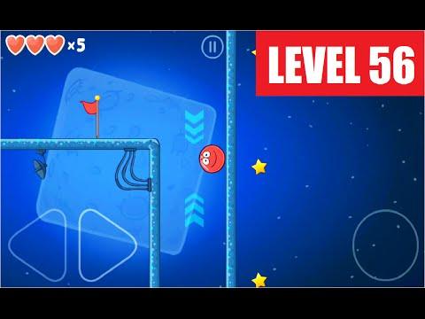 Как пройти 56 уровень в red ball 4
