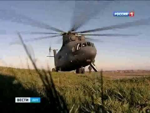 Самый большой в мире грузовой вертолет