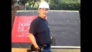 How to install a new slate roof by Durable Slate - Slate Roofing Contractors