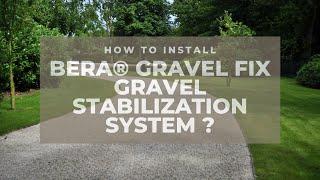 How to lay Gravel Fix Video EN