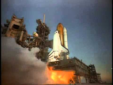 Closeup IMAX Camera On Launch Pad Captures Space Shuttle ...