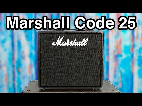 Marshall Code 25 - 14 Legendary Amps in One?