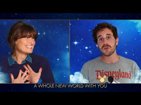 Idina Menzel and Ben Platt Perform 'A Whole New World' - The Disney Family Singalong: Volume II