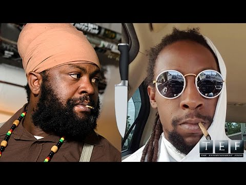 """Jahcure Attacks Fanton Mojah With Knife """"Reggae Artists Gone Wild"""" May 2016"""