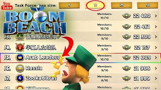 Boom Beach Task Force Special : 10 man Arab Leaders