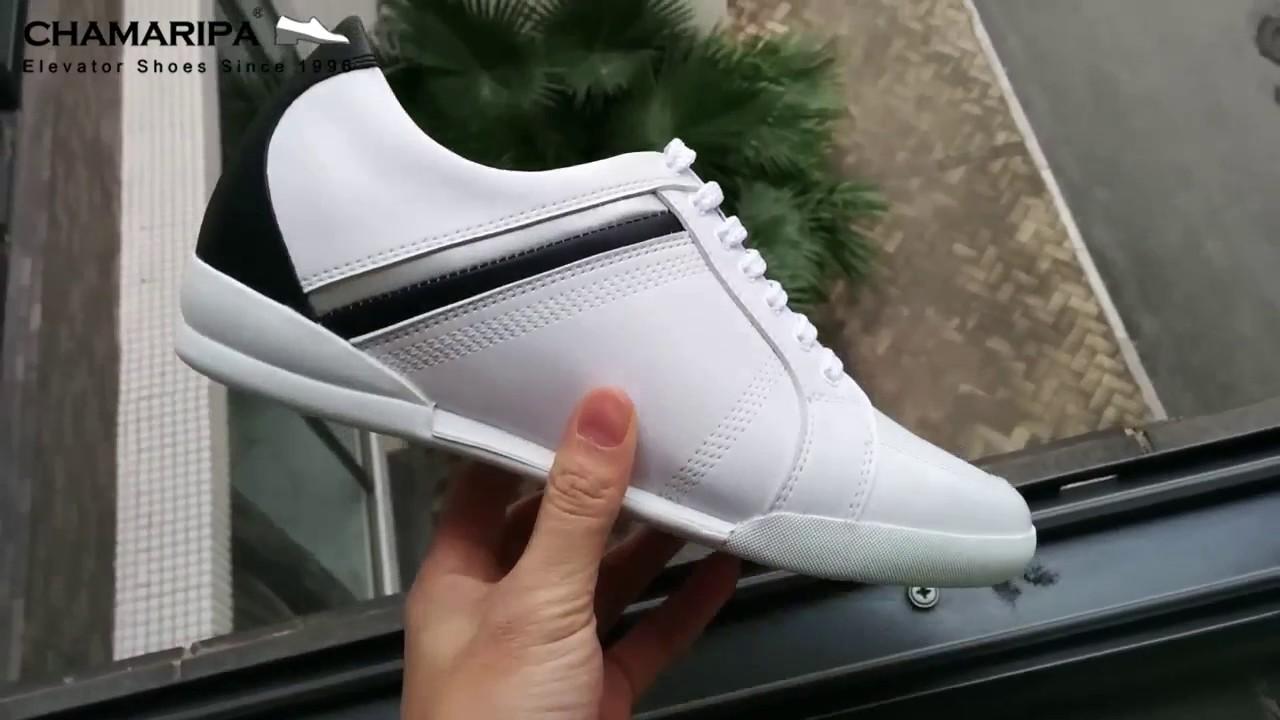 moda più desiderabile acquisto genuino 100% qualità 2017 Scarpe da Uomo con Tacco Interno Sneakers Rialzate 6CM Più Alti
