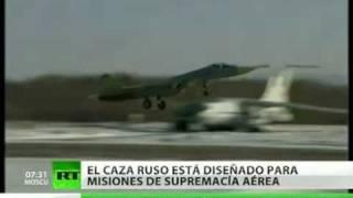 El Pentágono afirma que el caza ruso PAK FA es una amenaza para la supremacía aérea de EE. UU.