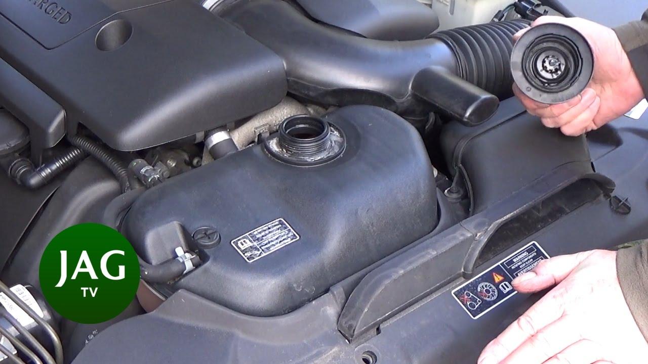 checking engine coolant jaguar s type r str [ 1280 x 720 Pixel ]