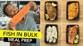 Fish in Bulk: Quick Recipes & FAQs  / Preparando Pescado para la Semana