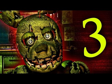 WHAT IS THAT!? - Five Nights At Freddy's 3! (Night 1 - 3)