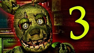 WHAT IS THAT!? - Five Nights At Freddy's 3! (Night 1 - 3) Video