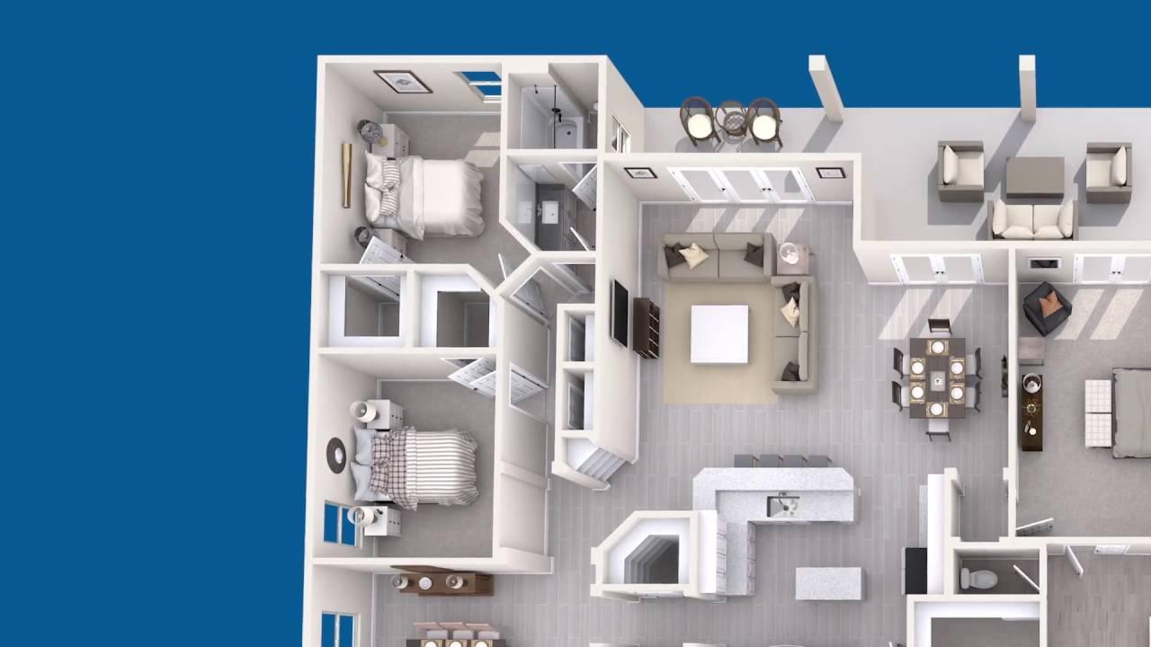Meritage Homes Floor Plans | Palermo Floor Plan Florida Meritage Homes Youtube