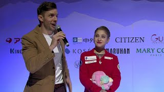 Alena Kostornaia Interview Grand Prix Final 2019 2020