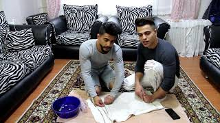 تحدي السرعة تحت الماء العقوبة رقص   Mohammed and Rami  