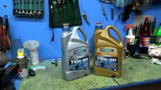 Трансмиссионные  масла от RAVENOL при Т  45С
