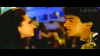 "Kumar sanu with Aamir Khan From ""Raja Hindustani ""(1996) song=""Tere-Ishq-Mein-Nachenge"""