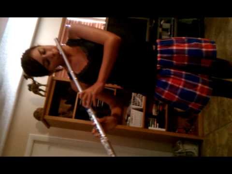 Canticle of the sun by Larry Clark flute cover
