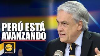 """Sebastián Piñera: """"Perú está avanzando hacia el desarrollo"""""""
