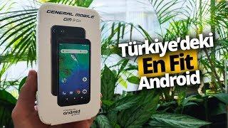 General Mobile GM 9 Go Kutusundan Çıkıyor - Türkiye'deki En Fit Android!