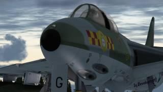 Hunter F.6/FGA.9 In Development Video