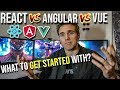 React Vs Angular Vs Vue -( Which one to