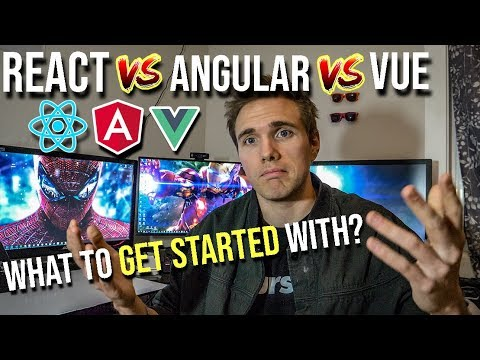 React Vs Angular Vs Vue -( Which One To Start With?) | #2019  #grindreel