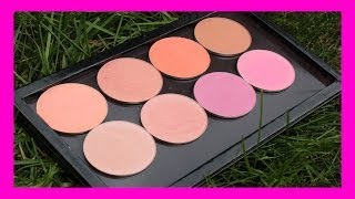 NEW MAKEUP GEEK BLUSHES: Review and Swatches