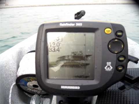 humminbird 565 in action - youtube, Fish Finder