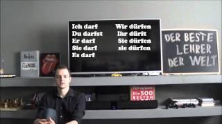 Немецкие слова: модальные глаголы KÖNNEN, DÜRFEN. Немецкий для начинающих, урок 6.