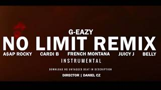 (FREE)G-Eazy - No Limit REMIX ft. A$AP Rocky, Cardi B, French Montana, Juicy J, Belly FREE