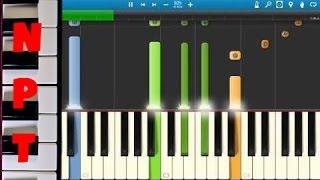 Nicki Minaj ft. Skylar Grey - Bed Of Lies - Piano Tutorial - Synthesia - How To Play