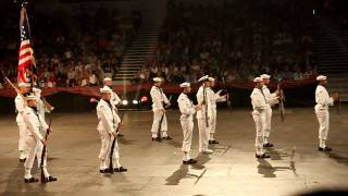 United States NAVY Ceremonial Honor Guard Drill Team