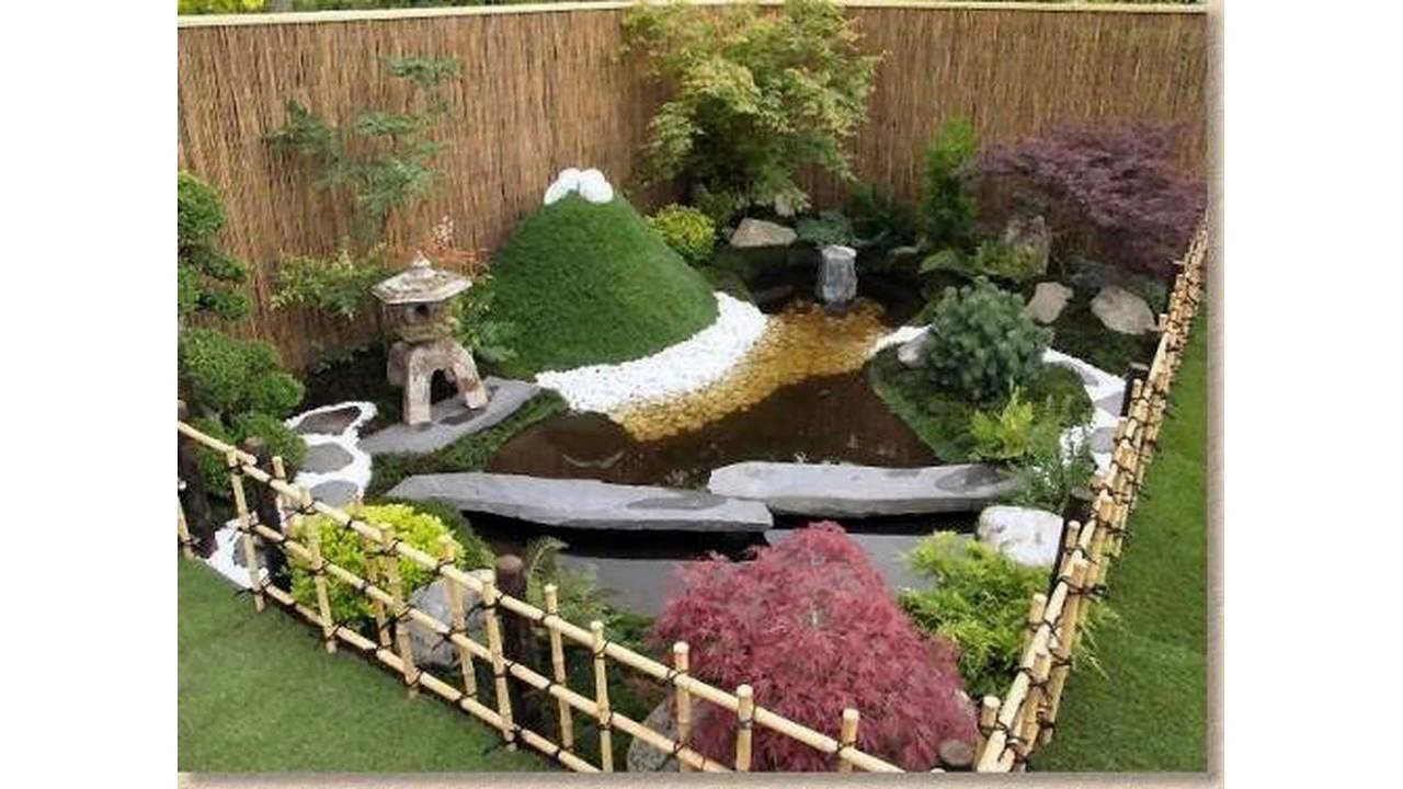 Garden landscaping ideas for small gardens - YouTube