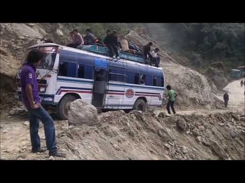 世界一危険な道路 ネパール編