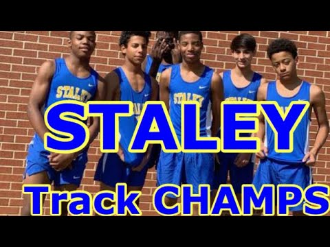 TRACK 2019 champions staley middle school highlights and dancing video !!