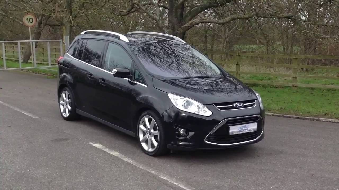 2013 13 ford grand c max 2 0 tdci powershift titanium x huge spec www brunswickcarsales co uk. Black Bedroom Furniture Sets. Home Design Ideas
