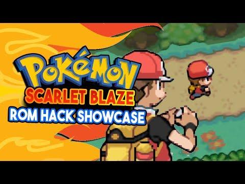 Pokemon Scarlet Blaze Pokemon Rom Hack Showcase Pokemon Fire Red Sequel